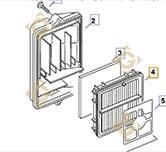 Air Cleaner k6308319s engines KOHLER