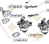 Carburetor k1785396s engines KOHLER