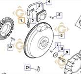 Spare parts Plug k2513212s