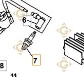 Spare parts Plug k6613201s