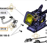 Coil k1858401s engines KOHLER