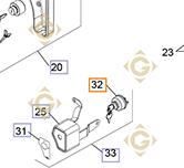 Pièces détachées Contacteur à clefs k2509932s