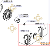 Tableau de démarrage k1708143s moteurs Kohler
