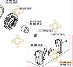 Pièces détachées Tableau de démarrage k1708143s Pour Moteurs Kohler, de marque Kohler