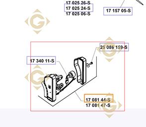 Pièces détachées Tableau de démarrage  k1708144s Pour Moteurs Kohler, de marque Kohler