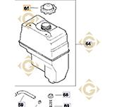 Bouchon Réservoir k2517308s moteurs Kohler
