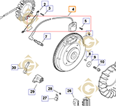Pièces détachées Module d'allumage k2458415s