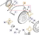 Module Ignition k2458415s engines KOHLER