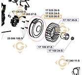 Volant Moteur k1702506s moteurs Kohler