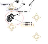 Pièces détachées Alternateur k1708507s