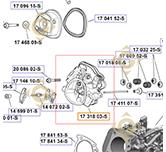 Kit culasse k1731803s moteurs Kohler