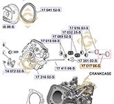 Intake Valve k1701706s engines KOHLER