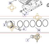 Pièces détachées Piston k1787401s