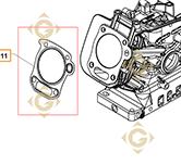 Spare parts Head Gasket k1784101s