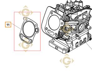 Spare parts Head Gasket k1784101s For Engines KOHLER, by marks KOHLER