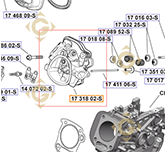 Head Kit k1731802s engines KOHLER