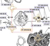 Kit Culasse  k1731802s moteurs Kohler