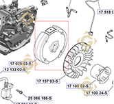 Flywheel k1702503s engines KOHLER