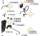 Régulateur k1740307s moteurs Kohler