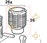 Cylinder 203r073 engines LOMBARDINI