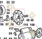 Fan 9718108 engines LOMBARDINI
