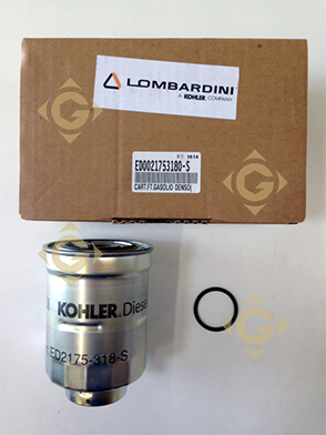 Pièces détachées Cartouche Filtre à Gasoil KDI 2175318 Pour Moteurs Lombardini, de marque Lombardini
