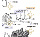 Exhaust Valve k1701699s engines KOHLER