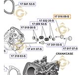 Soupape d'Echappement  k1701699s moteurs Kohler