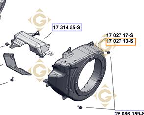 Pièces détachées Convoyeur  k1702756s Pour Moteurs Kohler, de marque Kohler