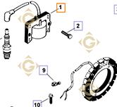 Module d'Allumage k4758403s moteurs Kohler