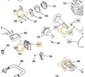 Régulateur k2540322s moteurs Kohler
