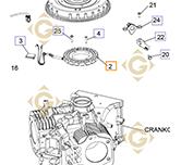 Alternator 15/20 AMP 237878s engines KOHLER