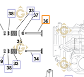 Spare parts Intake Valve k3201701s