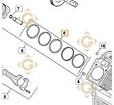 Segment STD k2410822s moteurs Kohler