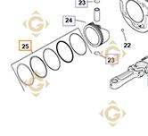 Ring STD k2010804s engines KOHLER