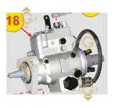 Pompe à injection 6590535 moteurs Lombardini