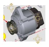 Alternator 14V 1157422 engines LOMBARDINI