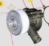 Pompe à eau  6584538 moteurs Lombardini